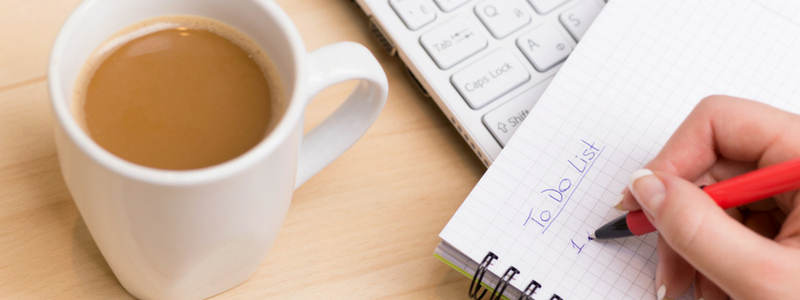 Create these Habits to Stay Organized